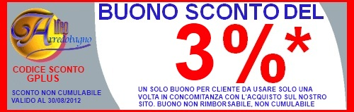 coupon sconto google plus